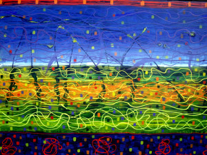 Anne Naylor @ http://becauseofbipolar.com.au/photos-of-my-paintings/sometimes-there-are-fireworks-2/